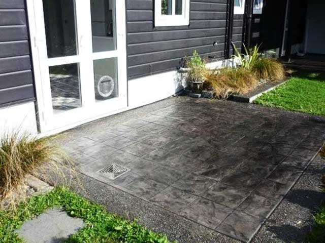 Slate Tile - Exposed Pebble